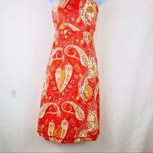 Moda international strapless sundress size 4